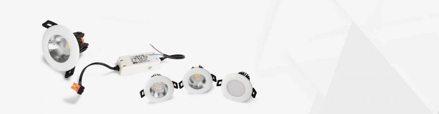 Các loại đèn âm trần