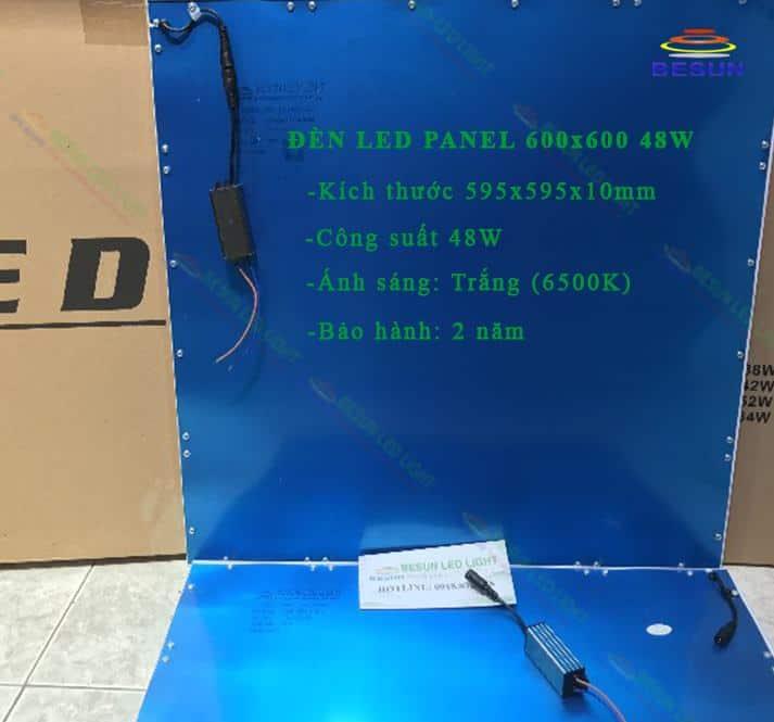 Đèn led panel 600x600 48W 6500K
