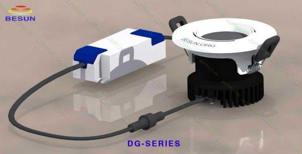 Đèn led âm trần thạch cao chống chói DG-Series
