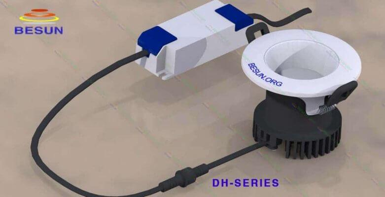 Đèn LED âm trần siêu sáng chống chói DH-Series