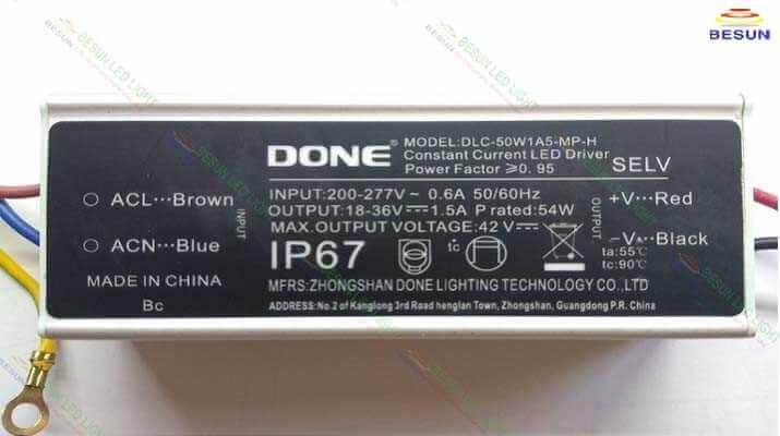 Bộ nguồn đèn led panel 600x600 48w