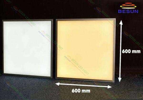 Màu sắc ánh sáng đèn led âm trần 600x600