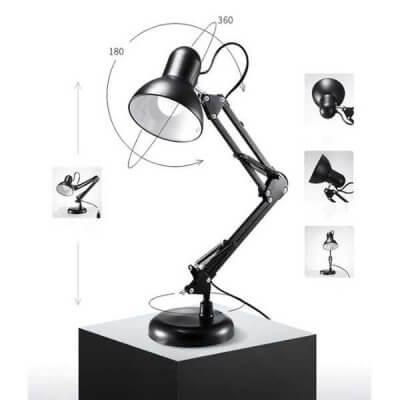 Thiết kế đèn đọc sách Pixar với khớp xoay linh hoạt