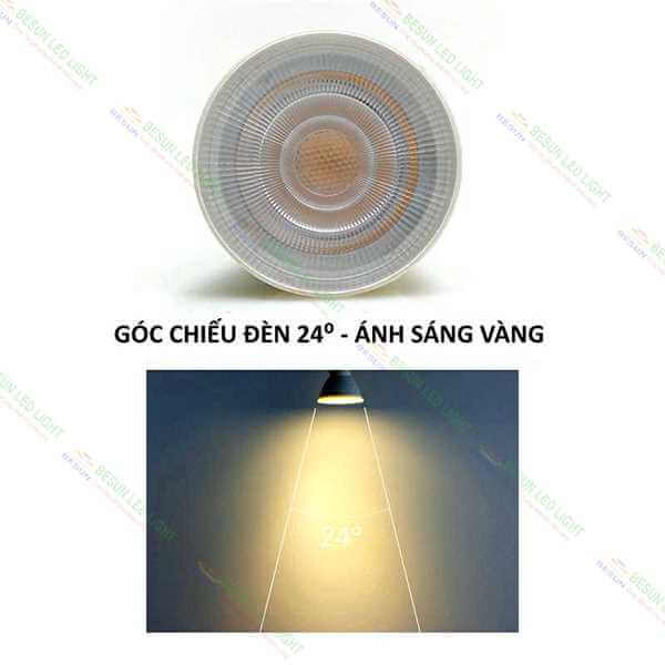 Goc chieu bong den doc sach 3000k