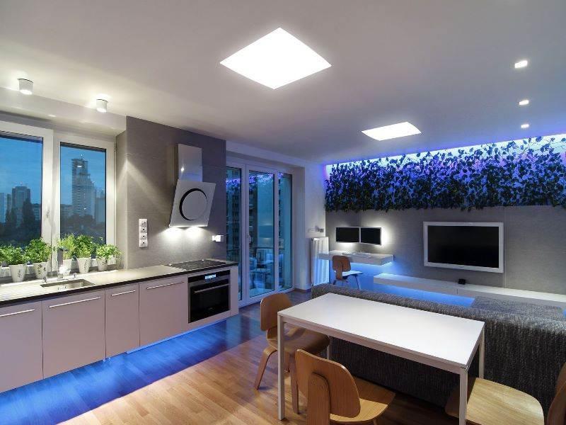 Đèn led âm trần 600x600 lắp phòng khách